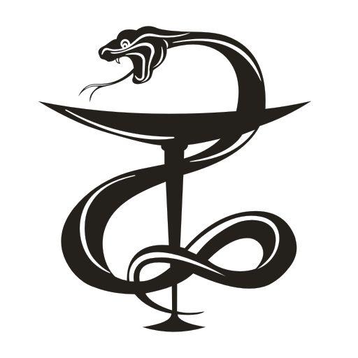 Почему на аптеке изображена змея