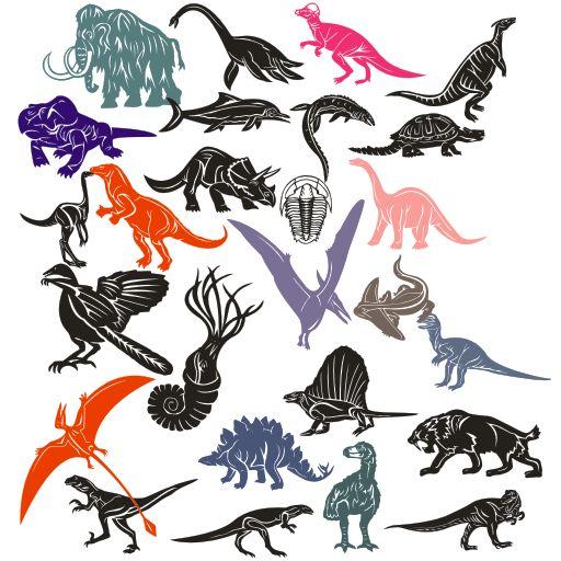 динозавры клипарт